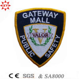 LogoのカスタムSoccer Sport Embroidery Badge Article