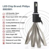 un kit di 880 881 60W Philips il LED Foglight ha tuffato il faro