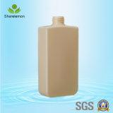 frascos plásticos do PE 530ml para a embalagem cosmética com pulverizador da bomba