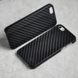 Alta qualità Ultra Thin Mobile Phone Accessories Real Carbon Fiber Caso per il cellulare 5s di iPhone 5