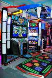 Máquina 2016 de juego de lujo de la música de baile de la arcada del simulador de la diversión 3D de Hotsale de fichas