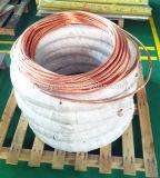 Do cobre elevado quadrado da condutibilidade de 16 fio de terra de aço folheado da costa Milimeter