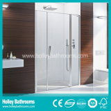 Salável Walking in Shower Door with Tempered Frosted Glass (SB203N)