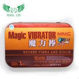 Ingrandimento di erbe del pene dell'estratto effetto magico del vibratore di forte