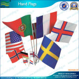 Флаг страны оптовой руки изготовленный на заказ (NF01F02020)
