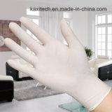 Устранимые естественные перчатки руки латекса