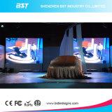 Schermo di visualizzazione dell'interno nero del LED dell'affitto di colore completo di P4.8 SMD2121 LED per l'evento/fase