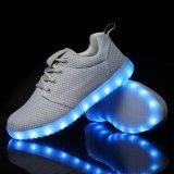 De In te ademen Materiële LEIDENE van het comfort Schoenen van Sporten voor Volwassenen in Fabriek Jinjiang