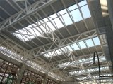 Al-Magnésio-Manganês Panel Roof Steel Structure Truss para Gym
