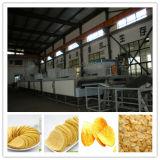 Pommes chips complètement automatiques approuvées de CE/ISO faisant la machine