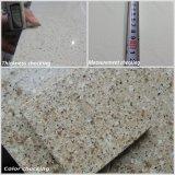 人工的な大理石の床タイルの水晶石を特定のサイズにカットしなさい