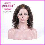 대중적인 파도치는 착색된 머리 Remy Virgin 브라질 정면 레이스 사람의 모발 가발