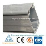 Perfis de alumínio da extrusão da indústria com várias formas