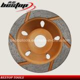 Шайбы кромкошлифовального колеса чашки меля для камня