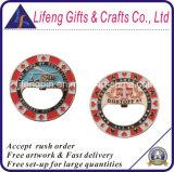 Regalos de recuerdo personalizado diseño esmalte suave abrebotellas Coin