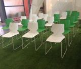 Сверхмощной нержавеющей стали En16139 стул офиса стандартной 150kg цветастый