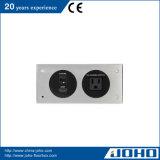 Aluminiumlegierung-Tischplattenkontaktbuchse-Panel-Typ Tischplatte-Kontaktbuchse