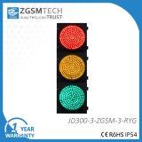 300mm LED 신호등 빨간 녹색 노란 둥근 교통 신호