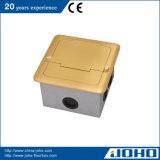 IP20はタイプ床のソケットの防水真鍮の床のソケットを開く
