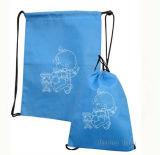 El lazo promocional de nylon se divierte el bolso de la gimnasia del morral (HBDR-72)