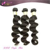 Der meiste populäre Haar-Extensions-wellenförmige malaysische Jungfrau-Menschenhaar-Einschlagfaden