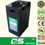 2V500AH AGM, gélifient la batterie d'Aicd de fil réglée par soupape rechargeable profonde de batterie de pouvoir de batterie d'énergie solaire de cycle de batterie rechargeable pour la batterie de longue vie