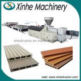 Protuberancia plástica de madera modificada para requisitos particulares del perfil del PE que hace la línea de la máquina