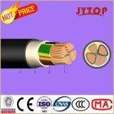 Instalación nyy cable de baja tensión de aislamiento de PVC funda de cable de cobre
