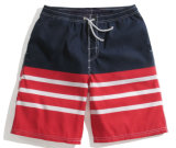 Fashion Stripe Printing Men's Beach Shorts Vêtements de gros Vêtements pour hommes