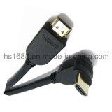 Rechtwinklige HDMI Kabelhalter 3D und Audios-Rückkehr