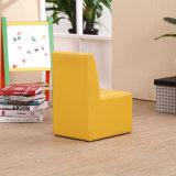 La vente chaude badine le sofa avec le tabouret pour des meubles de jardin d'enfants