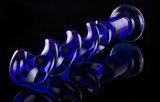 女性Injo-Dg038のための性のおもちゃのガラスDildo