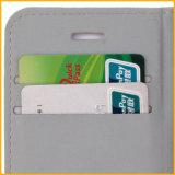 Caja ultra fina colorida del teléfono móvil de la PU de la alta calidad