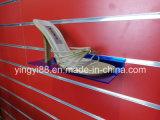 Kundenspezifisches freies Slatwall Regal-Acrylschuh/Produkt-Bildschirmanzeige-Halterung