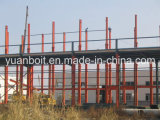 Steel Elevado-Windproof Structure Warehouse e Plant para You Build