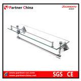 Steel di acciaio inossidabile 304 Glass Shelf con Towel Rack
