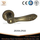 Ручка рукоятки двери текстуры зерна кофеего циновки на розетках (Z6303-ZR09)