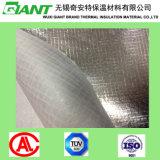 Tissu de couvre-tapis de toiture de fibre de verre de clinquant