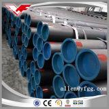 ASTM A53 Sch40の黒い溶接された炭素鋼の管
