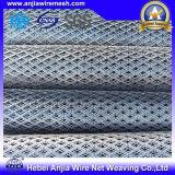 Chapa de aço expandida revestida plástica do metal do PVC para o material de construção