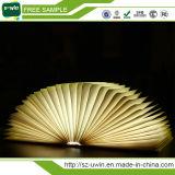 Lámpara portable del libro del LED de la luz plegable del libro