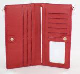 Contrasto Color Leather Wallet per Women (HW250027)