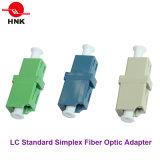 Adaptador óptico estándar a una cara de fibra del LC