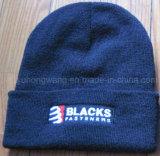 Lanas del invierno/sombrero del cráneo/casquillo hechos punto de acrílico, gorrita tejida