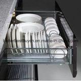 Hoher Glanz-preiswerter Preis-Lack-Küche-Schrank
