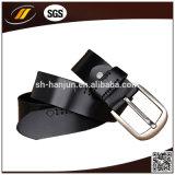 Неподдельный пояс людей способа кожаный пояса с пряжкой Pin (HJ3001)