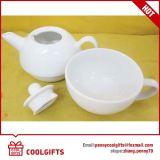 Tazza di ceramica bicolore fine lustrata del latte della porcellana per il regalo promozionale