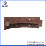 Patin de frein malléable du fer de moulage de Mannufacturer Qt-450 Qt-400 d'usine de bâti