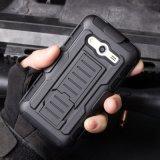 Samsung A3를 위한 내진성 기갑 변호인 전화 상자