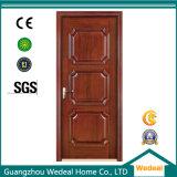 Классическая покрашенная дверь 3 панелей нутряная твердая деревянная